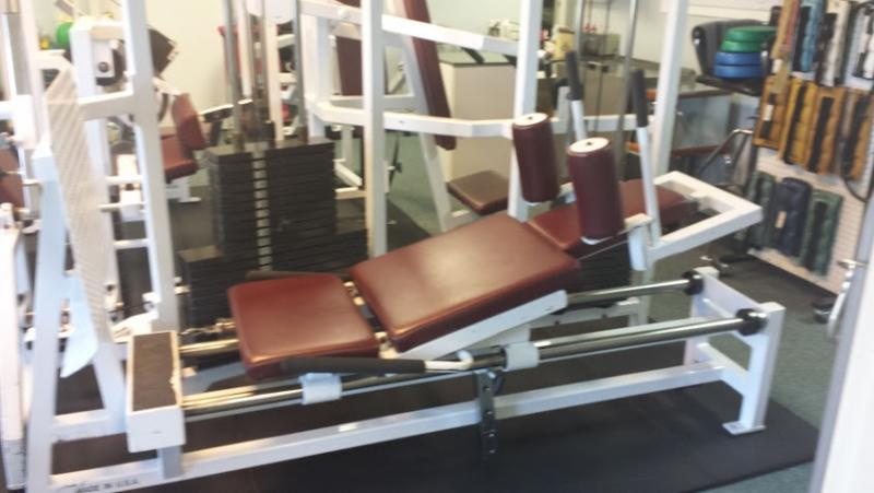 This is our Leg Press